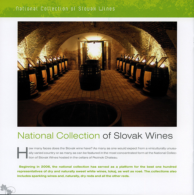 4. National Collection of Slovak Wines