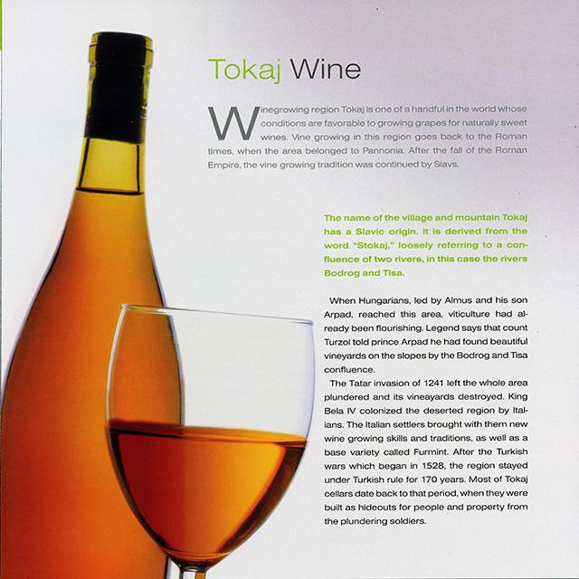 5. Tokaj Wine