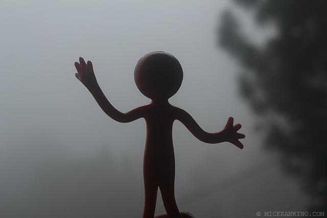 Stickman in Meri Phuensom Resort fog