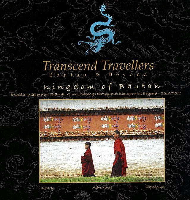Transcend Travellers brochure front