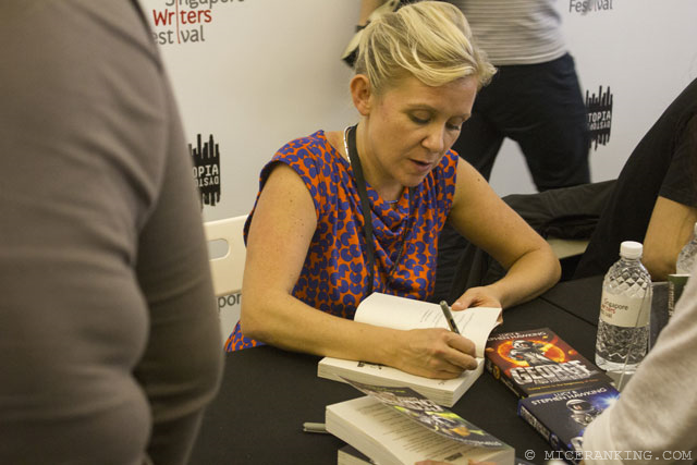 6. Lucy Hawkings, Singapore Writers Festival 2