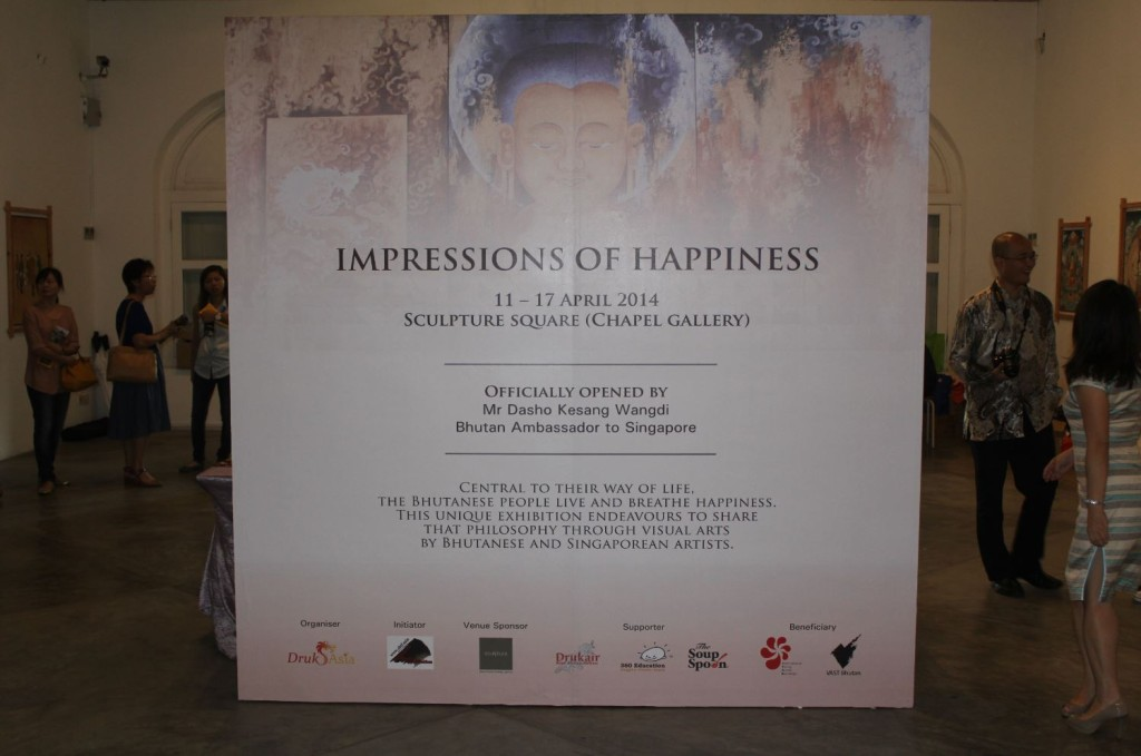 Impressions of Happiness Poster
