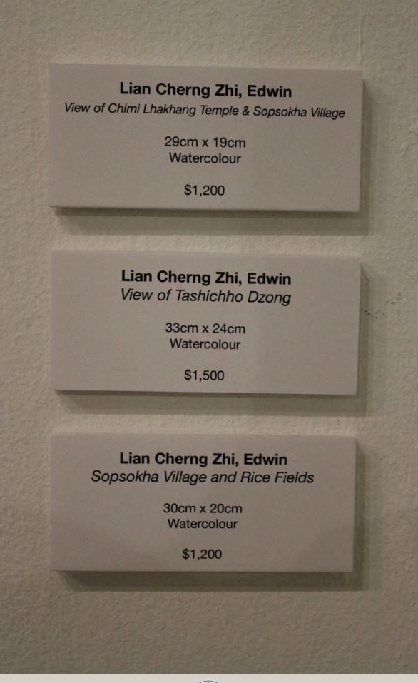 Lian Cherng Zhi, Art Price Tag