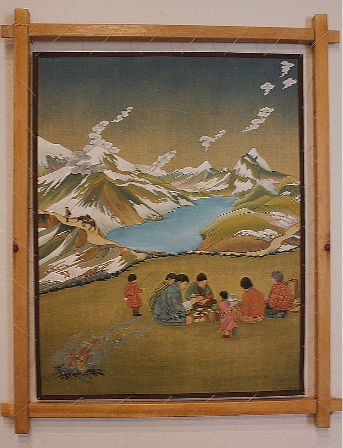 Picnic, by Rinchen Wangdi
