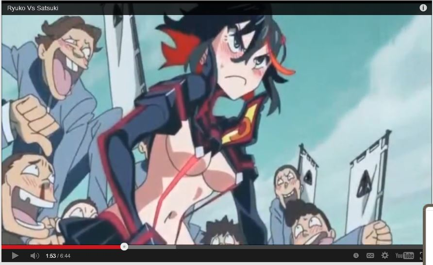 Kill la Kill character Ryuko Matoi