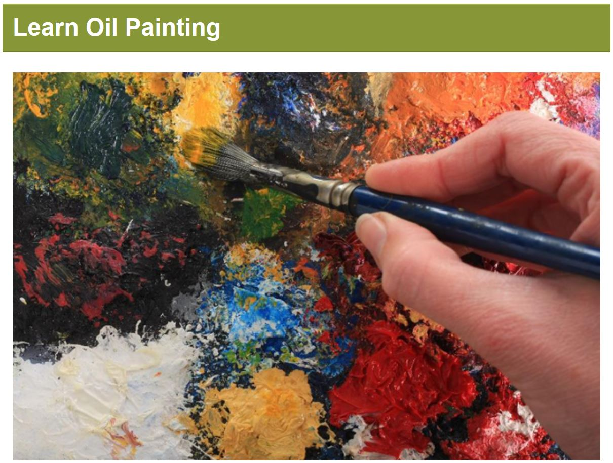 Learn Oil Painting - C3A