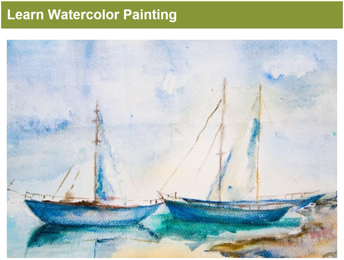 Learn Watercolor Painting - C3A