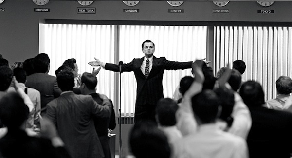 Dicaprio in Wolf of Wall Street