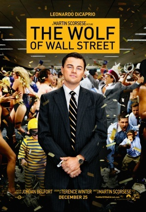 Wolf of Wall Street2013 Film poster